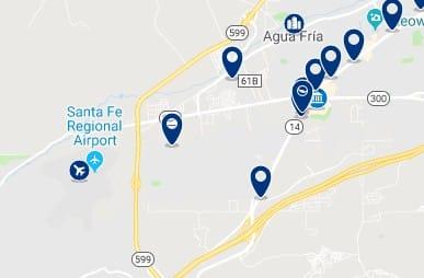 Alojamiento cerca del Santa Fe Place Mall - Haz clic para ver todo el alojamiento disponible en esta zona
