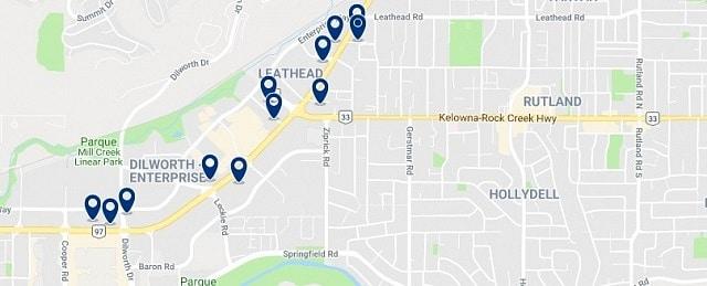 Alojamiento en Rutland - Haz clic para ver todo el alojamiento disponible en esta zona