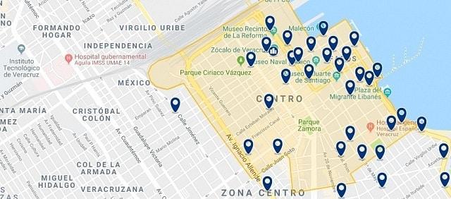 Alojamiento en Veracruz Centro Histórico - Haz clic para ver todo el alojamiento disponible en esta zona