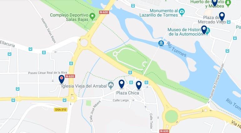 Alojamiento cerca del Puente Romano de Salamanca - Haz clic para ver todos el alojamiento disponible en esta zona