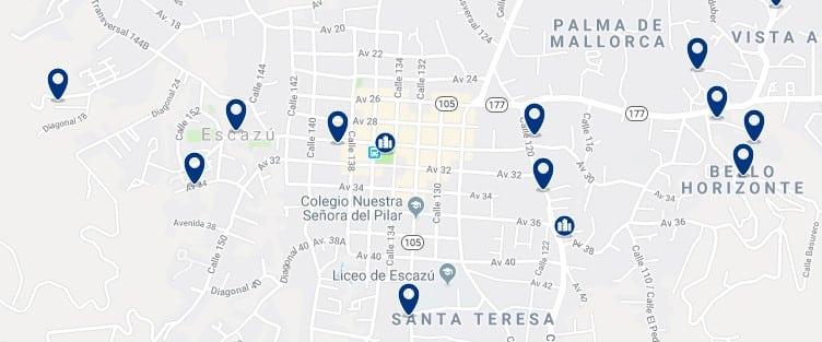 Alojamiento en Escazú - Haz clic para ver todos el alojamiento disponible en esta zona