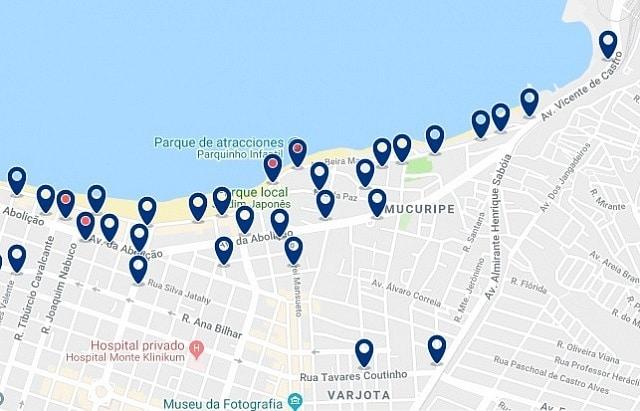 Alojamiento en Mucuripe - Haz clic para ver todo el alojamiento disponible en esta zona