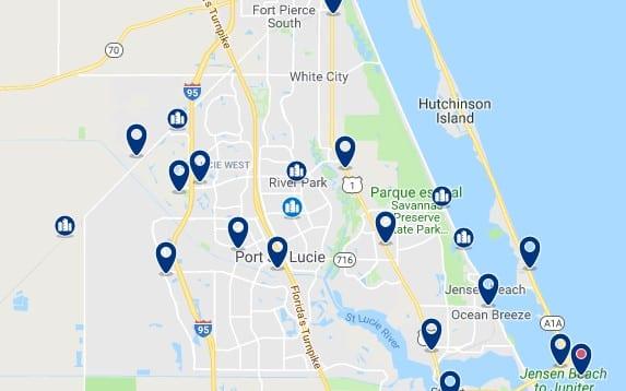 Alojamiento en Port Saint Lucie - Haz clic para ver todo el alojamiento disponible en esta zona