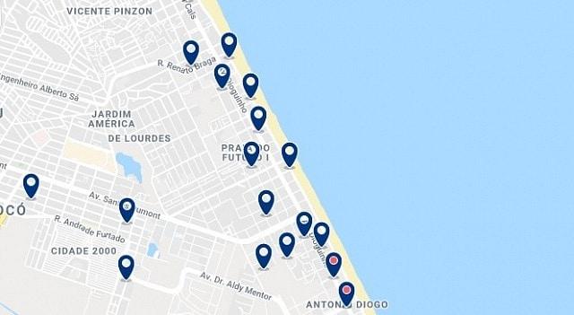 Alojamiento en Praia do Futuro - Haz clic para ver todo el alojamiento disponible en esta zona