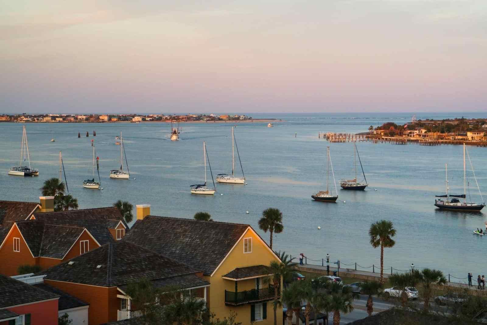 Las mejores zonas donde alojarse en San Agustín, Florida