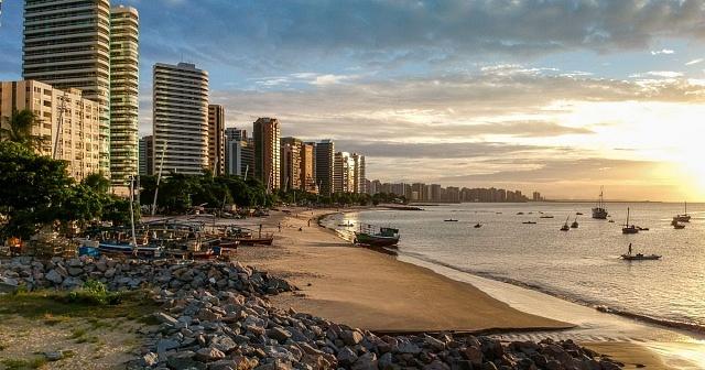 Mejores zonas donde alojarse en Fortaleza, Brasil - Praia de Iracema
