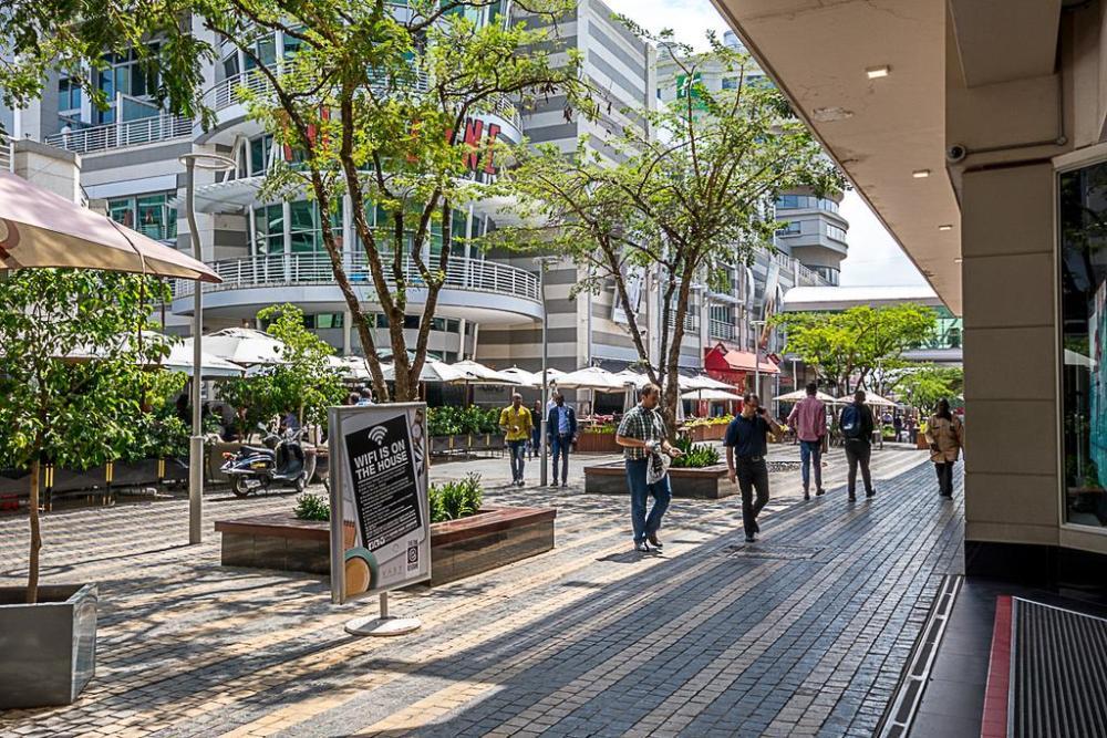Rosebank - Dónde alojarse en Johannesburgo