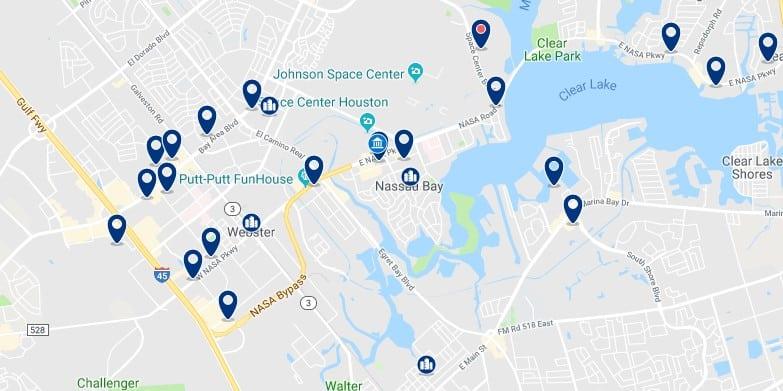 Alojamiento cerca del NASA Johnson Space Center - Haz clic para ver todos el alojamiento disponible en esta zona