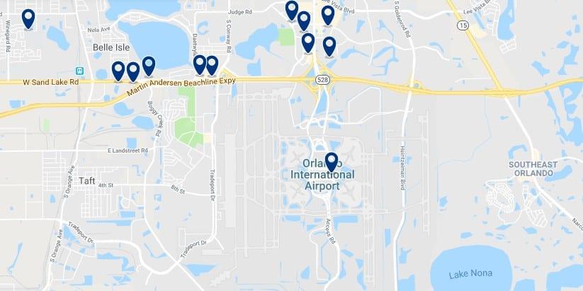 Alojamiento cerca del Orlando International Airport - Haz clic para ver todos el alojamiento disponible en esta zona