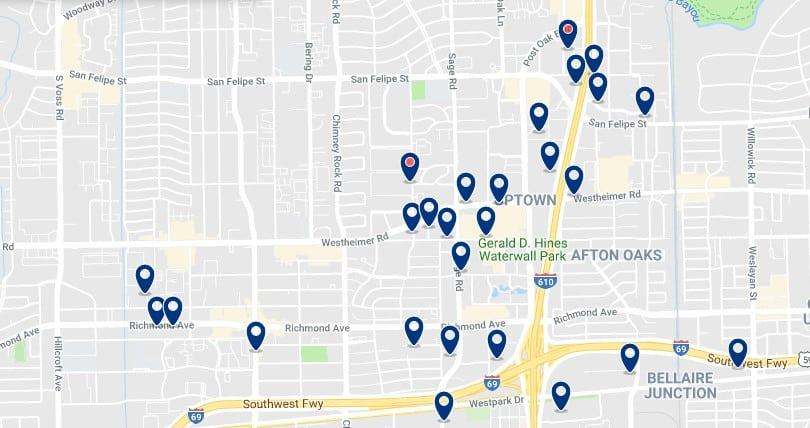 Alojamiento en Galleria & Uptown - Haz clic para ver todos el alojamiento disponible en esta zona