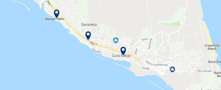 Alojamiento en Savaneta - Haz clic para ver todos el alojamiento disponible en esta zona
