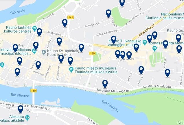 Alojamiento en el Centro Histórico de Kaunas - Haz clic para ver todos el alojamiento disponible en esta zona