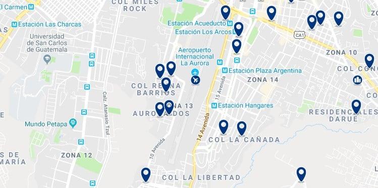 Alojamiento en la Zona 13 - Haz clic para ver todos el alojamiento disponible en esta zona