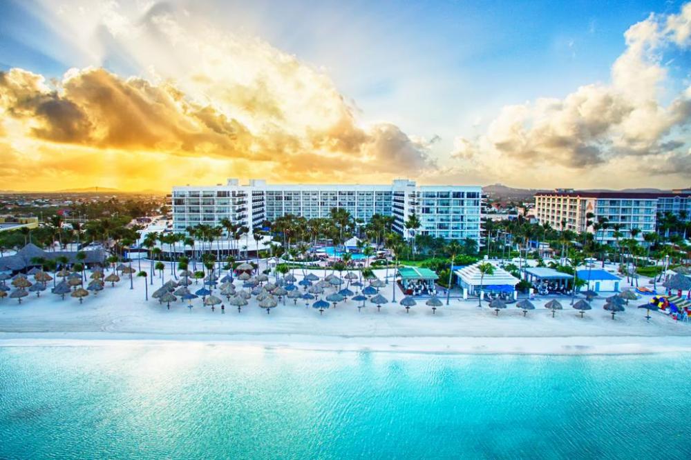 Dónde dormir en Aruba - Palm Beach Palm & Eagle Beach