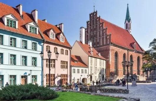 Mejores zonas donde alojarse en Riga, Letonia - Vecrīga