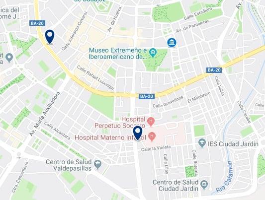 Alojamiento cerca del Museo de Arte Contemporáneo de Badajoz - Haz clic para ver todos el alojamiento disponible en esta zona