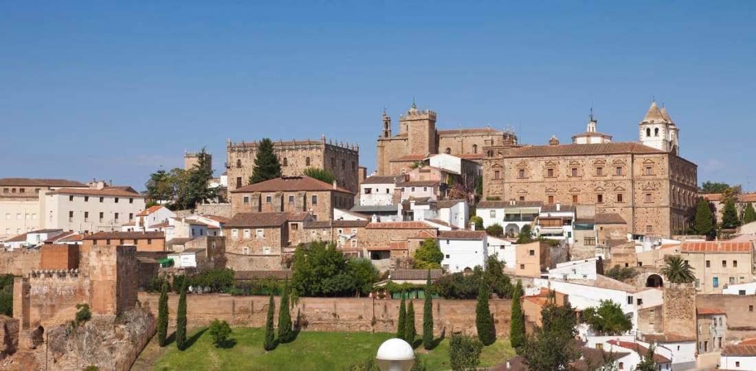 Dónde alojarse en Cáceres, España