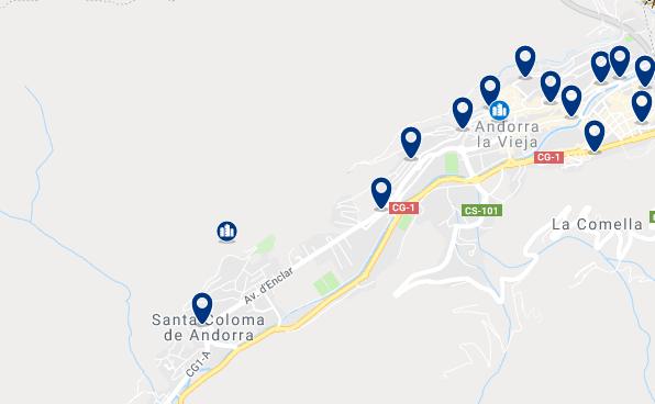 Alojamiento en Andorra la Vella – Haz clic para ver todo el alojamiento disponible en esta zona