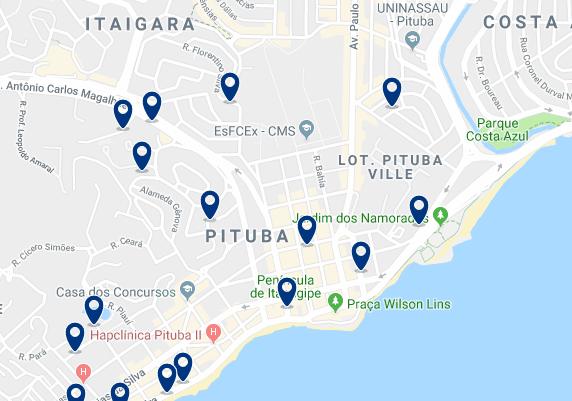 Alojamiento en Pituba – Haz clic para ver todo el alojamiento disponible en esta zona