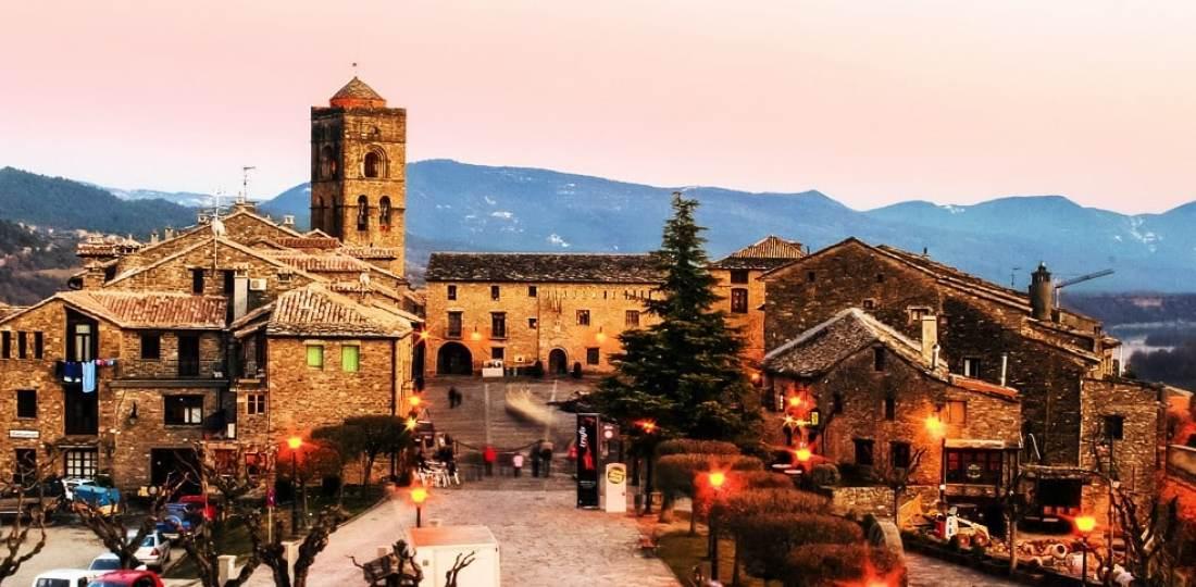 Dónde alojarse en Aínsa, España