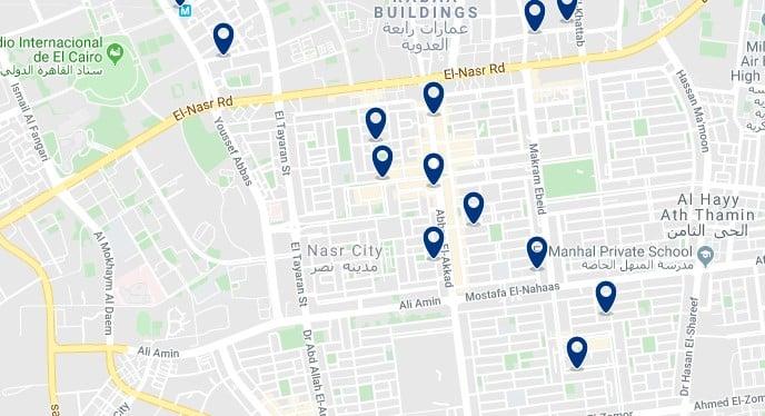 Alojamiento en Nasr City - Haz clic para ver todos el alojamiento disponible en esta zona