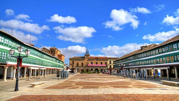 Alojarse en Ciudad Real - Centro Histórico