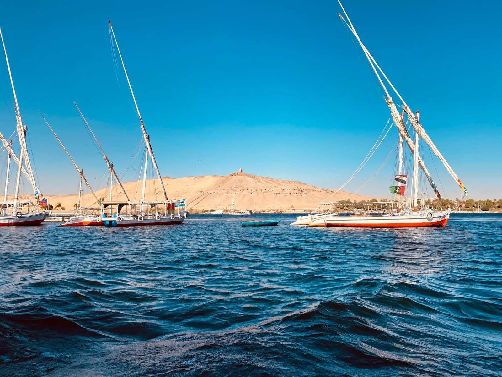 Las mejores zonas donde alojarse en Asuán, Egipto