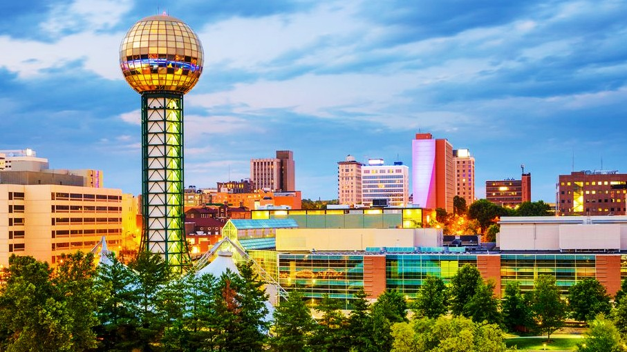 Mejores zonas donde alojarse en Knoxville, Tennessee - Downtown