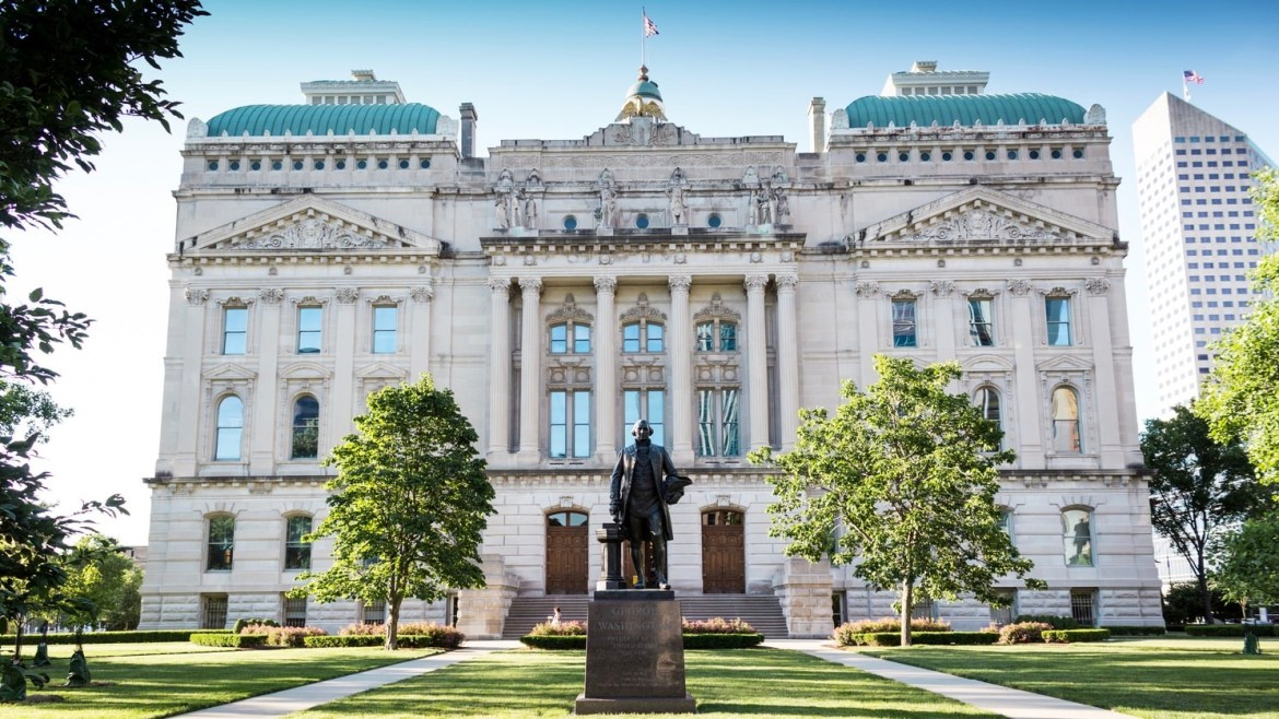 Where to Stay in Indianapolis, Indiana - Near the Indiana State House