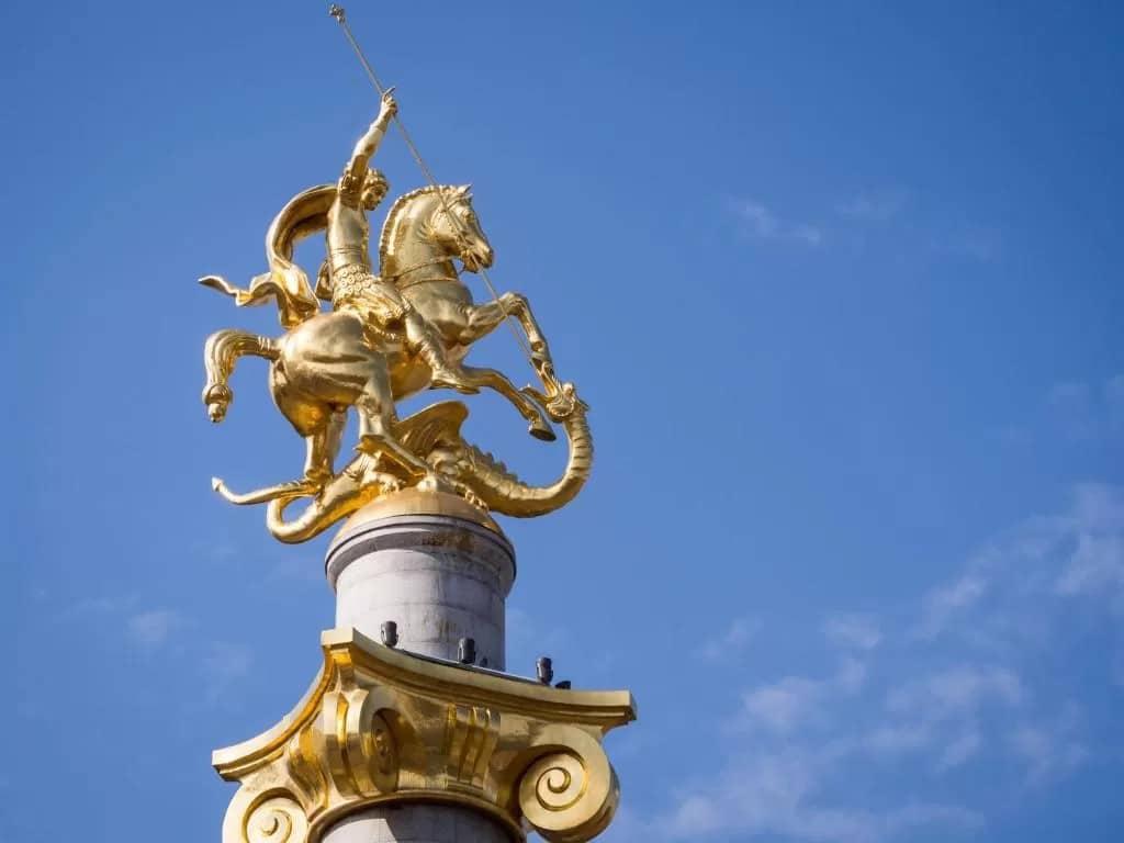 Mejores zonas donde alojarse en Tiflis, Georgia - Cerca de la Plaza de la Libertad