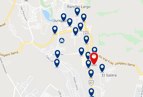 Alojamiento en Jurica, Juriquilla y Norte de la ciudad - Haz clic para ver todo el alojamiento disponible en esta zona