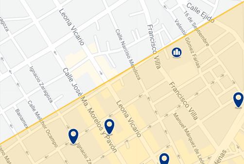 Alojamiento en el Centro de Cabo San Lucas - Haz clic para ver todo el alojamiento disponible en esta zona