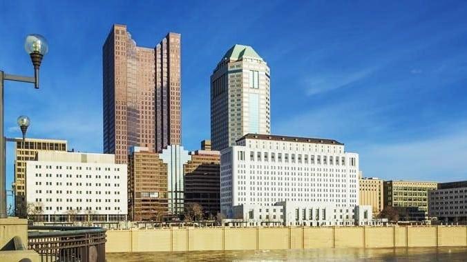 Zona recomendada donde alojarse en Columbus, Ohio - Downtown Columbus