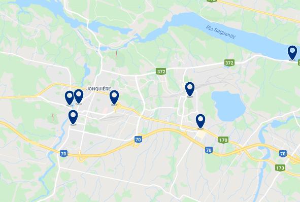 Alojamiento en Jonquière - Haz clic para ver todo el alojamiento disponible en esta zona