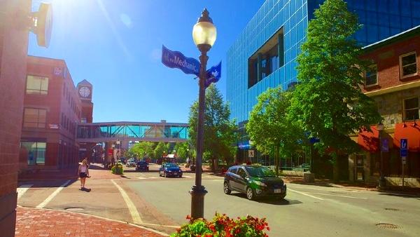 Mejores zonas donde aojarse en Moncton - Moncton City Centre