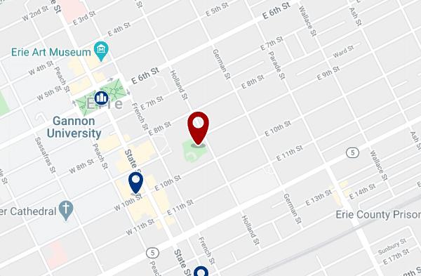 Alojamiento en Downtown Erie - Haz clic para ver todo el alojamiento disponible en esta zona