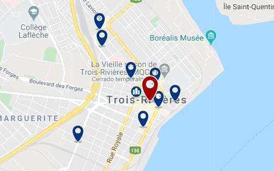 Alojamiento en Trois Rivieres City Centre - Haz clic para ver todo el alojamiento disponible en esta zona