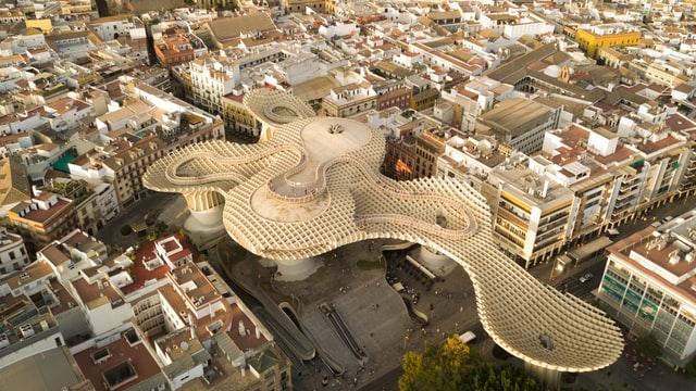 Zona recomendada para dormir en Sevilla - Centro Histórico