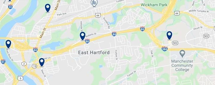 Alojamiento en East Hartford - Haz clic para ver todos el alojamiento disponible en esta zona
