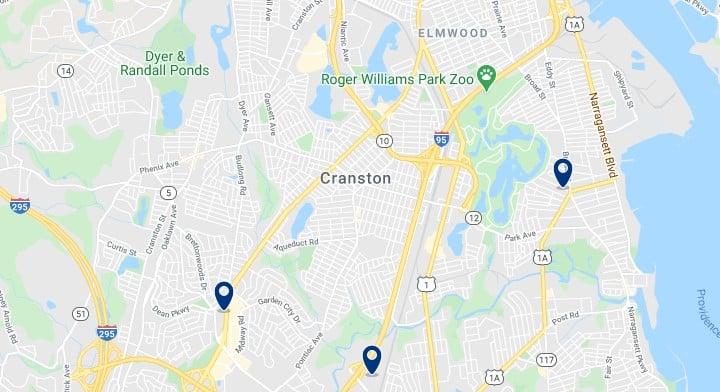 Alojamiento en South Providence - Haz clic para ver todos el alojamiento disponible en esta zona