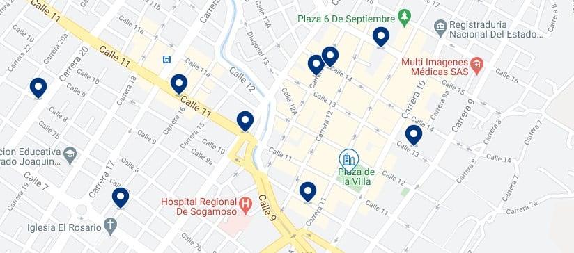 Alojamiento en el centro histórico de Sogamoso - Haz clic para ver todos el alojamiento disponible en esta zona