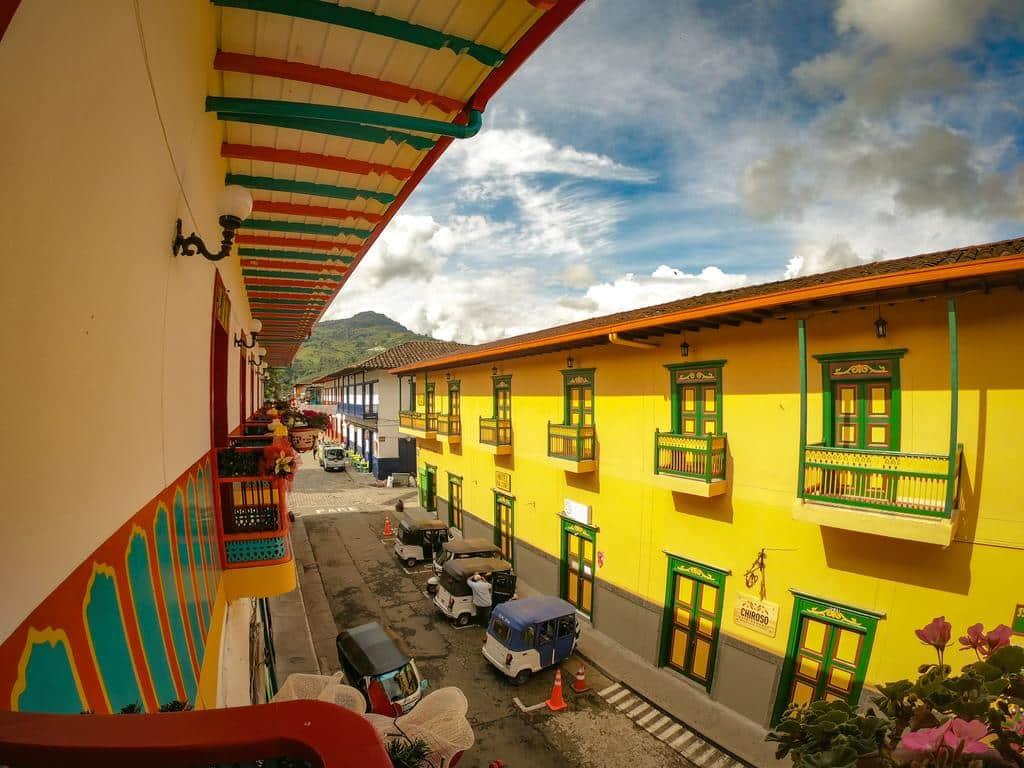 Dónde hospedarse en Jardín, Colombia - Centro del pueblo