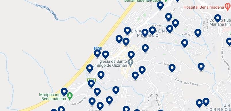 Alojamiento en Benalmádena Pueblo - Haz clic para ver todo el alojamiento disponible en esta zona