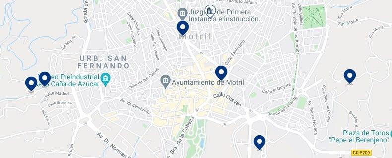 Alojamiento en el Centro de Motril - Haz clic para ver todo el alojamiento disponible en esta zona