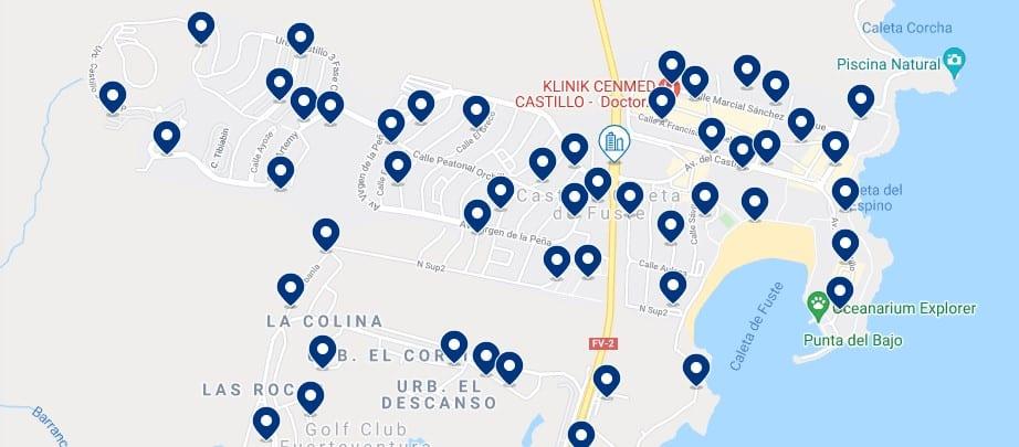 Alojamiento en Caleta de Fuste - Haz clic para ver todo el alojamiento disponible en esta zona