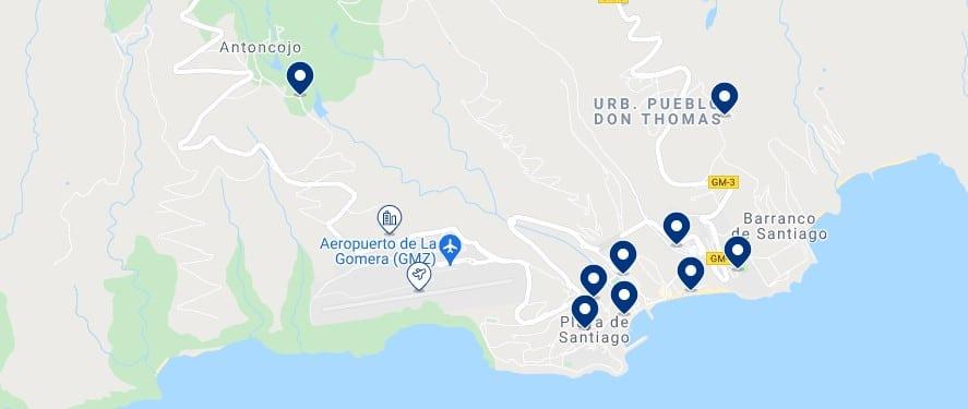Alojamiento en Playa de Santiago - Haz clic para ver todo el alojamiento disponible en esta zona