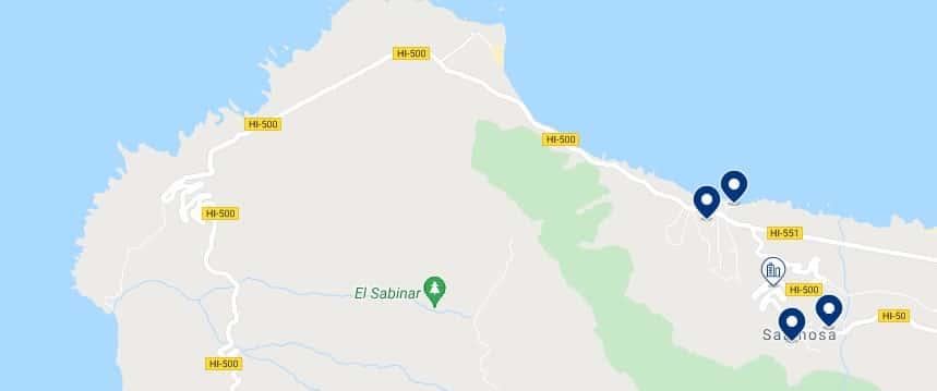 Alojamiento en Sabinosa - Haz clic para ver todo el alojamiento disponible en esta zona