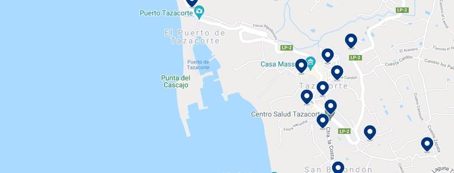Alojamiento en Tazacorte - Haz clic para ver todo el alojamiento disponible en esta zona