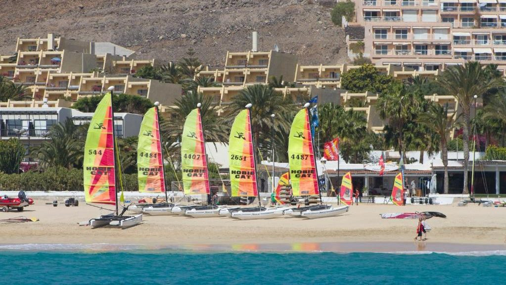 Dónde quedarse en Fuerteventura para practicar windsurf - Morro Jable
