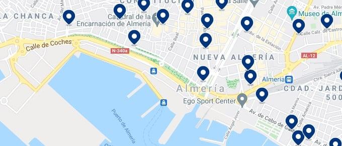 Alojamiento cerca del Puerto de Almería – Haz clic para ver todo el alojamiento disponible en esta zona